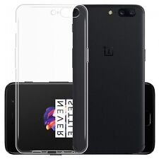 Oneplus 5 Ultra thin Back Case Clear TPU Silicon Slim Soft Cover One Plus Five