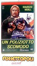 UN POLIZIOTTO SCOMODO DVD 1^ ed. Cecchi Gori M. MERLI Fuori Catalogo OTTIMO SC7