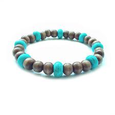 men's bracelet handmade gift accessory elastic wristband cuff shamballa beaded