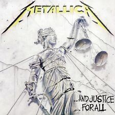 Metallica - And Justice For All Vinyl LP Heavy Metal Sticker, Magnet