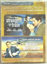 Alfred Hitchcock's Strangers On A Train & North By Northwest Dvd Double Film