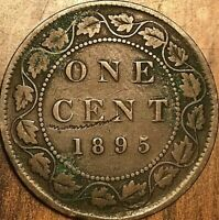 1895 CANADA LARGE 1 CENT PENNY