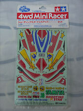 TAMIYA MINI 4WD DASH-3 SHOOTING STAR DRESS-UP STICKER SET 15057 1/32 VINTAGE