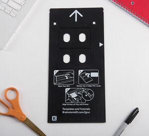 Inkjet PVC ID Card - K Tray for Canon Pixma PRO-10 and Pixma PRO-100 Printers