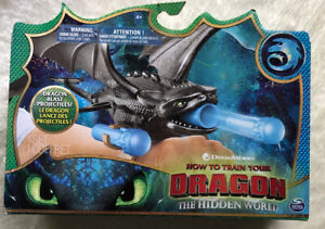 How to Train Your Dragon The Hidden World Toothless Wrist Launcher New In Box !