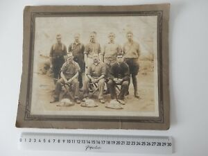 WORLD WAR 1 CANADIAN 5TH PIONEERS OFFICERS MESS VALCARTIER QUEBEC 30.5X 25.4CM