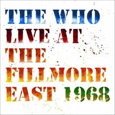 THE WHO LIVE AT THE FILLMORE EAST 1968 [DELUXE 2 CD] NEW & SEALED