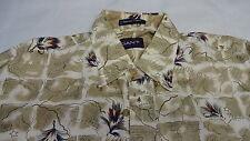 Men's Shirt Man Sz L by GANT FLY FISHING TIES Cotton Sports