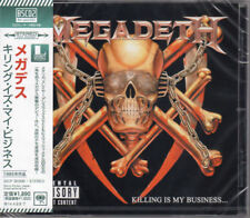 MEGADETH-KILLING IS MY BUSINESS. . . AND BUSINESS IS GOOD-JAPAN BLU-SPEC CD2 D73
