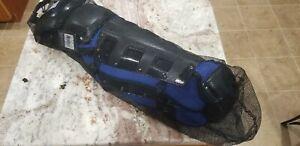 "Nike Vapor Catchers Leg Guards 15"" Navy/black PBP565 083"