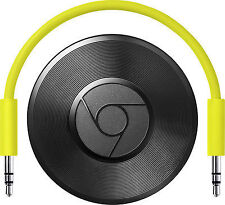 GOOGLE CHROMECAST AUDIO WiFi Audio Streaming (Latest Model) BRAND NEW