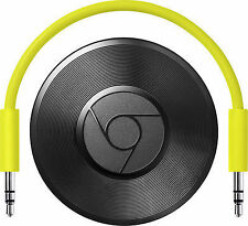 Google Chromecast Audio Media Streamer -Black