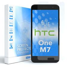 1x SCHUTZGLAS FÜR HTC One M7 PANZER DISPLAYFOLIE ECHT GLAS 9H