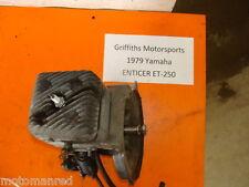 79 80 78 77 76 YAMAHA ENTICER ET 250 ET250 8H4 ENGINE MOTOR CYLINDER CRANK COMPL