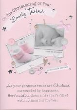 Christening Of Your Twins ~ On The Christening Of Your Gorgeous Twins