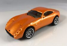 LOOSE MATCHBOX TVR TUSCAN S SPORTS CAR DIECAST METALFLAKE *ORANGE*1/57