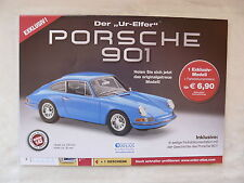 Porsche 911 Typ 901 - 1:43 Modell von Atlas - Prospekt Brochure 02.2015