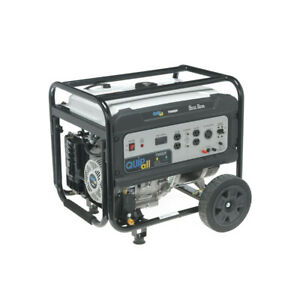 Quipall 7000DF Dual Fuel Portable Generator (CARB) New