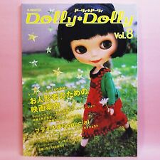Dolly Dolly vol.8 Japan Doll Magazine Outfits Clothe Sawing Blythe Barbie