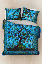 Tree of life bohemian cotton duvet cover indian mandala bedding quilt cover set
