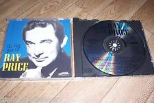 Ray Price The Very Best of CD 22 Songs Sony Heartland Music Presents DIDP Matrix