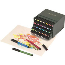 Faber CASTELL PITT artist brush stylos 60 couleur box set