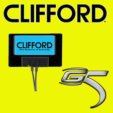 Clifford G4 G5 Car Alarm & Security Blue Flashing 12V Window Sticker LED New