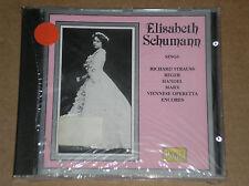 ELISABETH SCHUMANN SINGS STRAUUS, REGER, HANDEL- CD SIGILLATO (SEALED)