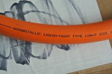 "LIQUATITE LNMP12 Conduit, Non Metalic, Orange Liquidtight, 3/4"" SOLD BY FOOT"
