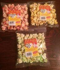 Pet Popcorn treats for small animals 3 Packs Hamster Rabbits Gerbils Mice Treat