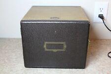 Vintage Barnett Jaffe Baja Slide Case 6 Drawer Tweed Midcentury 1950s
