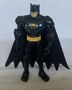 "DC Comics Batman Action Figure 5"" Tall Black/Yellow Belt P3282 Mattel Inc."