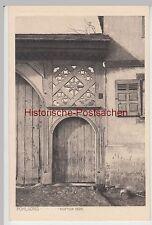 (95776) AK Butzbach Pohl-Göns, Pohlgöns, Hoftor, 1909