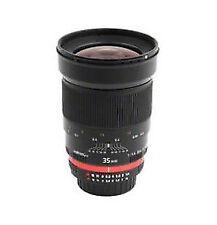 Walimex Pro 35 mm F/1.4 MF Objektiv für Canon
