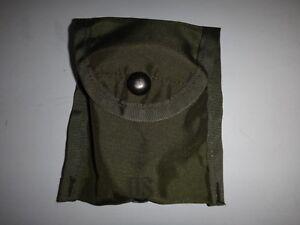 États-Unis Militaire Vert Od Nylon Compas Etui / Pochette Utilitaire, An 2000