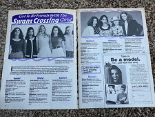 Swan's Crossing Brittany Daniel Sarah Michelle Gellar Magazine Clipping Article