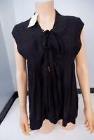 Isabel Marant NEW Black Top Size 38 Uk 10  Kenny Rrp £200 BNWTS
