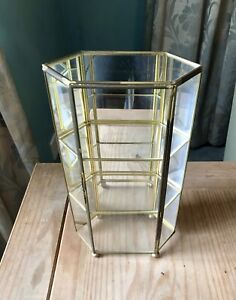 Metal And Glass Display Case