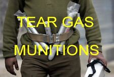 POLICE TEAR GAS GUNS,REFERENCE CD, WEAPONS,DEVICES ,SHELLS ,AMMO,GRENADES RARE