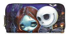 Disney Jack Sally Nightmare Before Christmas Wallet by Loungefly Jasmine Becket