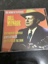 Bill Monroe - Father Of Bluegrass - Famous Country Music Makers - CD ALBUM
