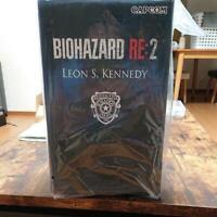 Resident Evil 2 Biohazard RE:2 Leon S. Kennedy Statue Figure Used