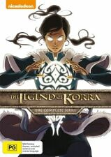 Legend Of Korra - The Complete Series : Book 1 2 3 4 : NEW DVD