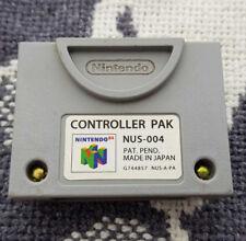 Nintendo 64 N64 Controller Pack NUS-004 Speicherkarte Memory Card