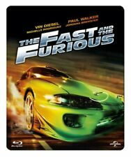 THE FAST AND THE FURIOUS Blu ray Steelbook ( NEW ) REG B
