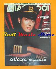 rivista CIAO 2001 3/1990 POSTER David Byrne Michelle Shocked Lenny Kravitz No*cd