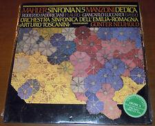 2LP MAHLER/MANZONI Sinfonia n. 5/Dedica (Fonit Cetra 86) contemporary SEALED!