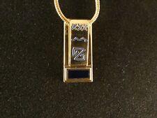 Ketten Anhänger 24 Karat Vergoldet Hieroglyphen Z Deluxe Halskette Auge