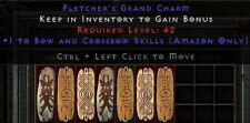 Diablo 2 Resurrected (D2R) Battle.net (PC) Xbow & Bow Skill Charm / Bow Skiller