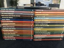 Time-Life Books Home Repair and Improvement Complete Set 37 Hardcovers